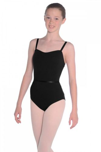 Roch Valley Camisole Dance Leotard with Belt in Black or Navy CMajor Exam / Ballet
